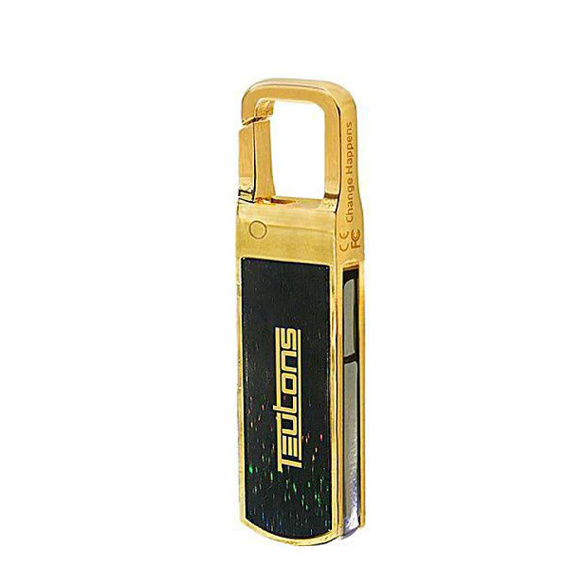 Teutons Solid Gold 32gb Usb 3.1 Gen-1 Flash Drive