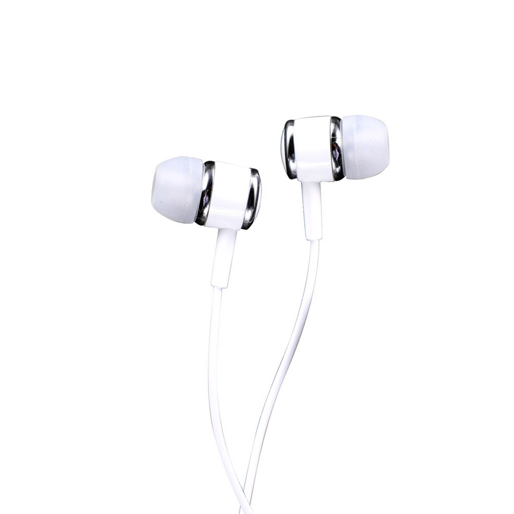 Teutons F21 Wired Earphone - White