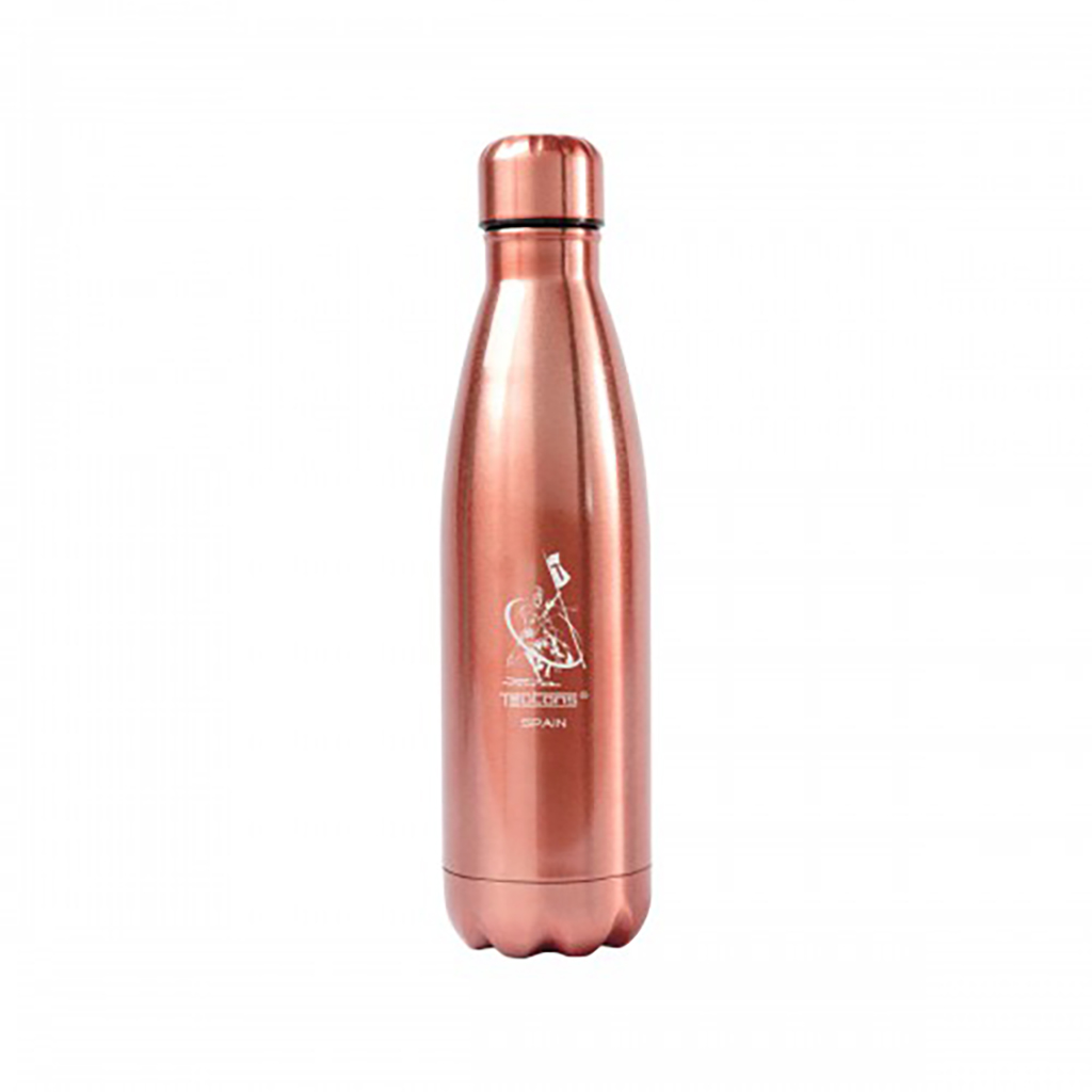 Teutons Stainless Steel Water Bottle - Rose Gold