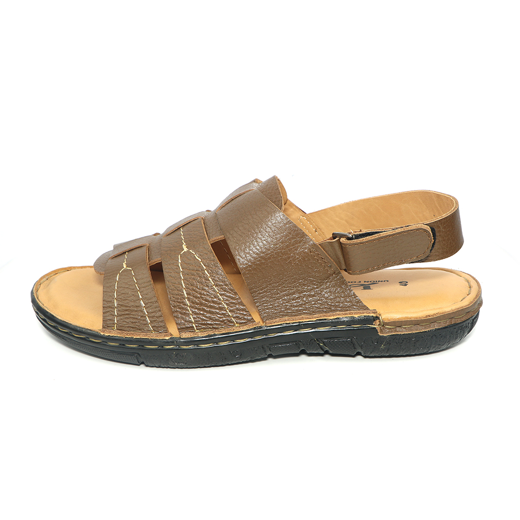 Pu Upper Lining Belt Sandal For Men (uf-35)