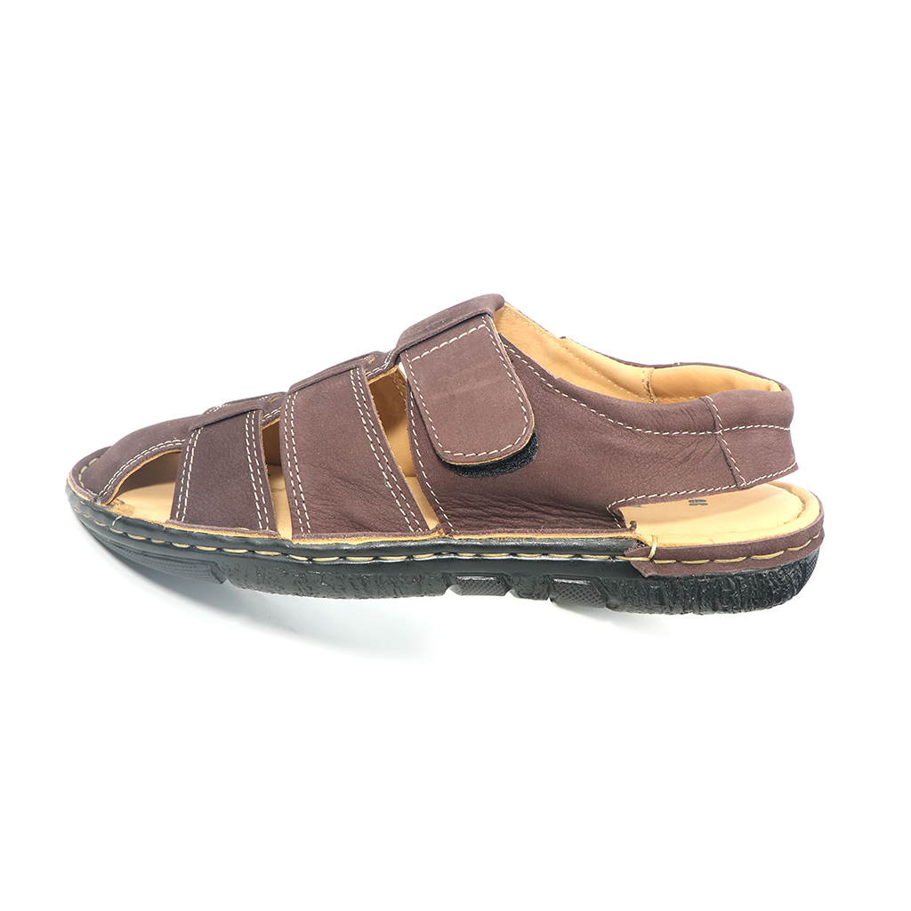 Pu Upper Lining Men Belt Sandal (uf-37)