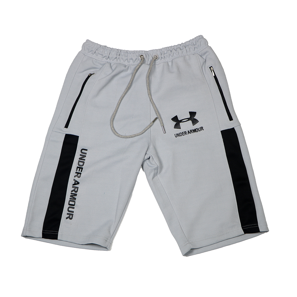 Under Armour Stylish And Fashionable Casual Mens Comfortable Casual Sports Shorts (ash)