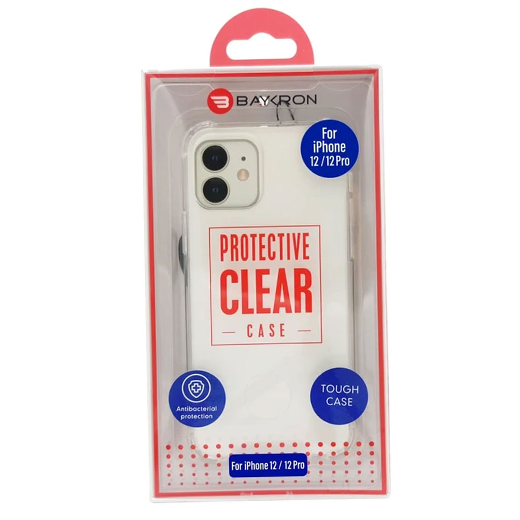 Baykron 20-005009 Iphone 12/12pro Tough Antibacterial Case