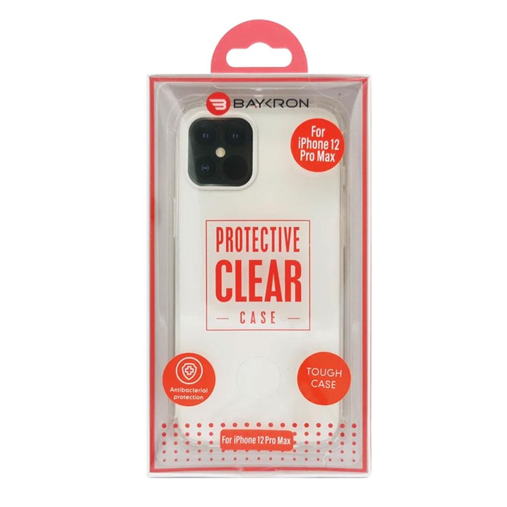 Baykron 20-005010 Iphone 12 Pro Max Tough Antibacterial Case