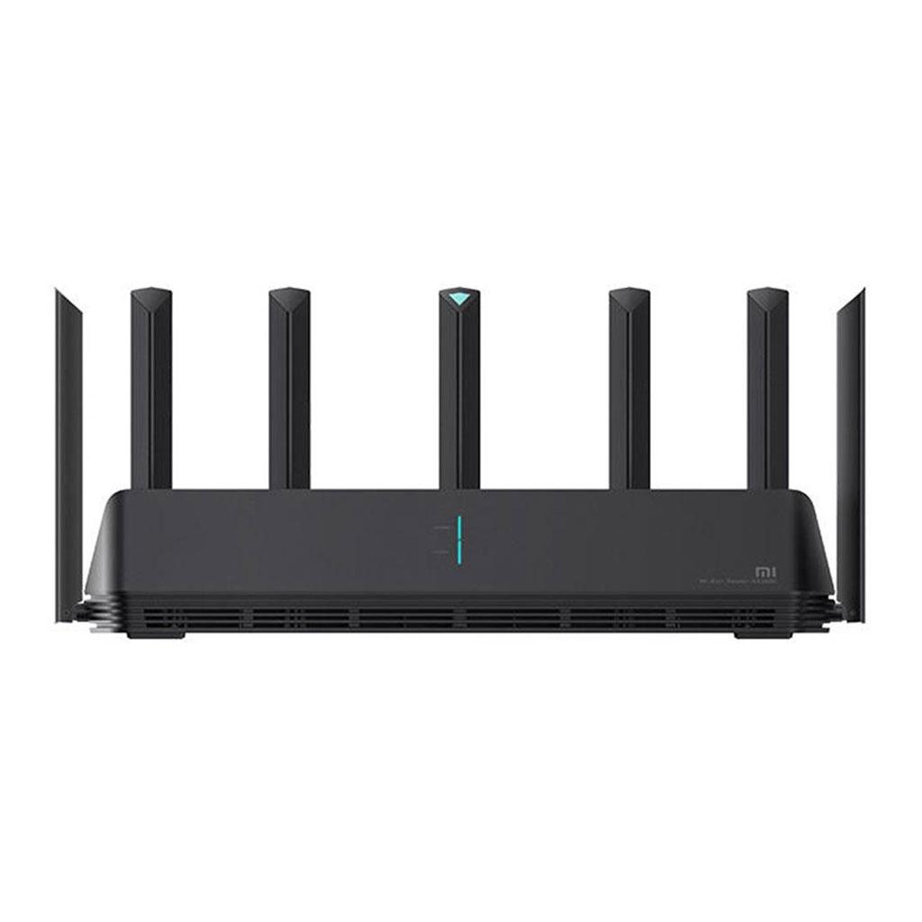 Mi Aiot Ax3600 Dual Band 7 Antenna Wifi 6 Router - Black