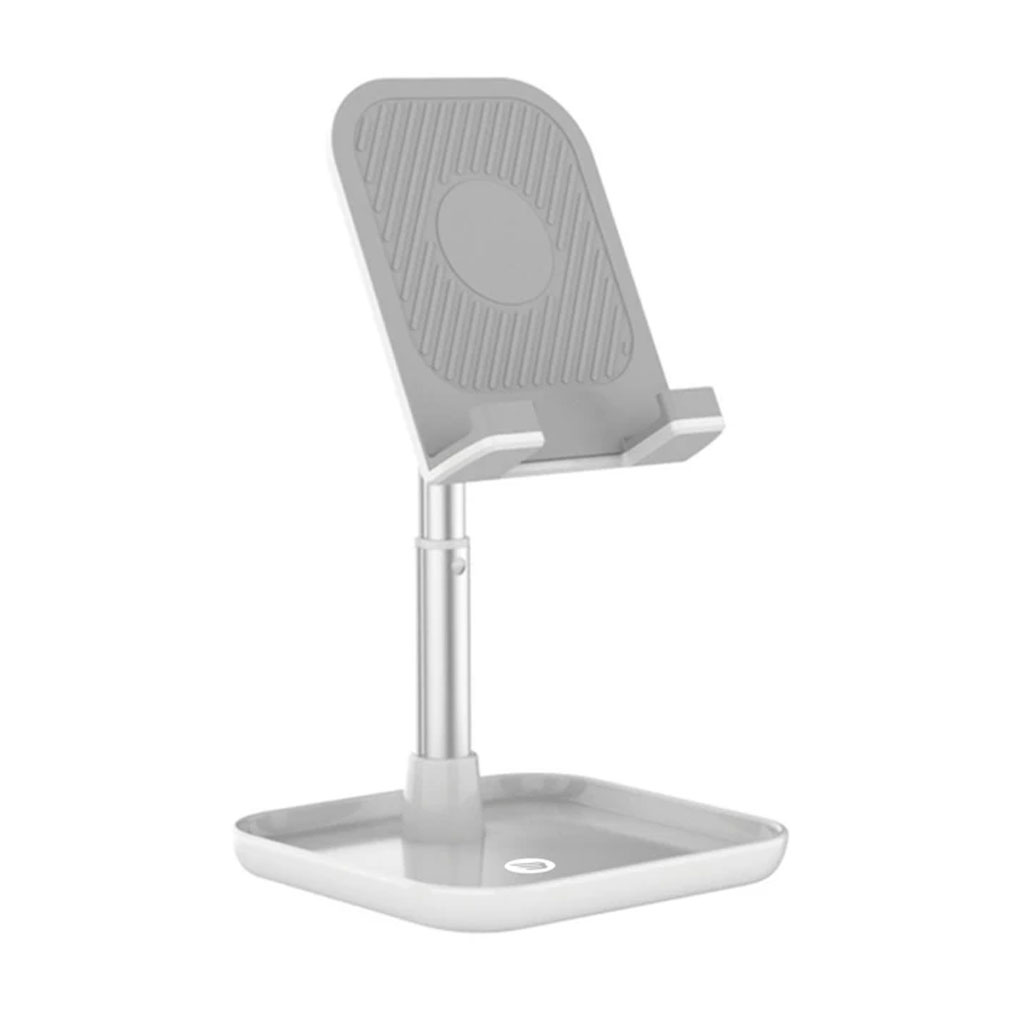 Baykron 20-005012 Mobile And Tablet Portable Stand - White