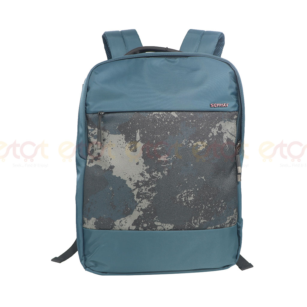 Scmstr Premium Quality Stylish Professional School College Laptop And Travel Backpack Blue (81729)