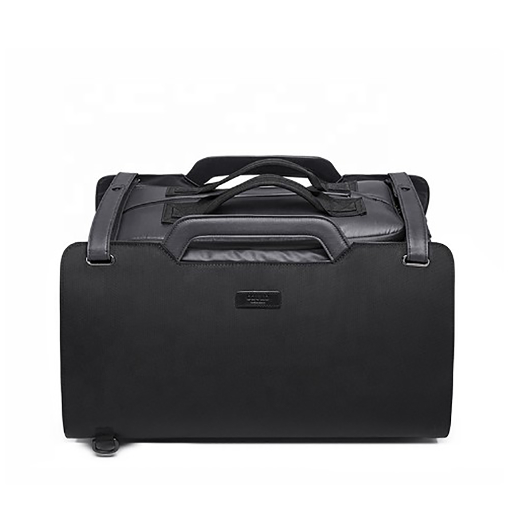 Ozuko 9285 40l Anti Theft Stylish And Professional Travel Duffle Waterproof Trolley Luggage Suitcase Bag (black)