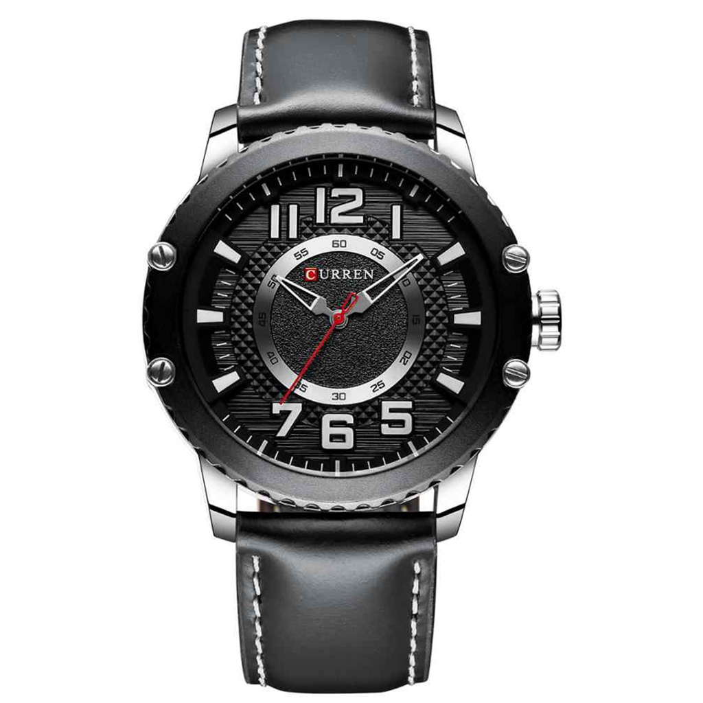 Curren 8341bl Quartz Watch For Man