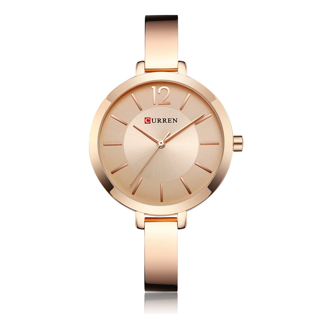 Curren 9012rg Quartz Watch For Women