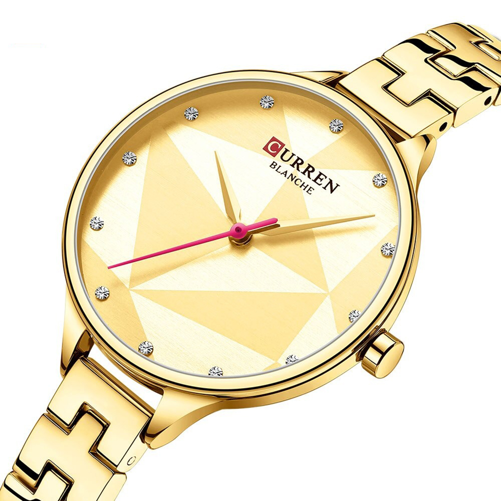 Curren 9047gd Quartz Watch For Women