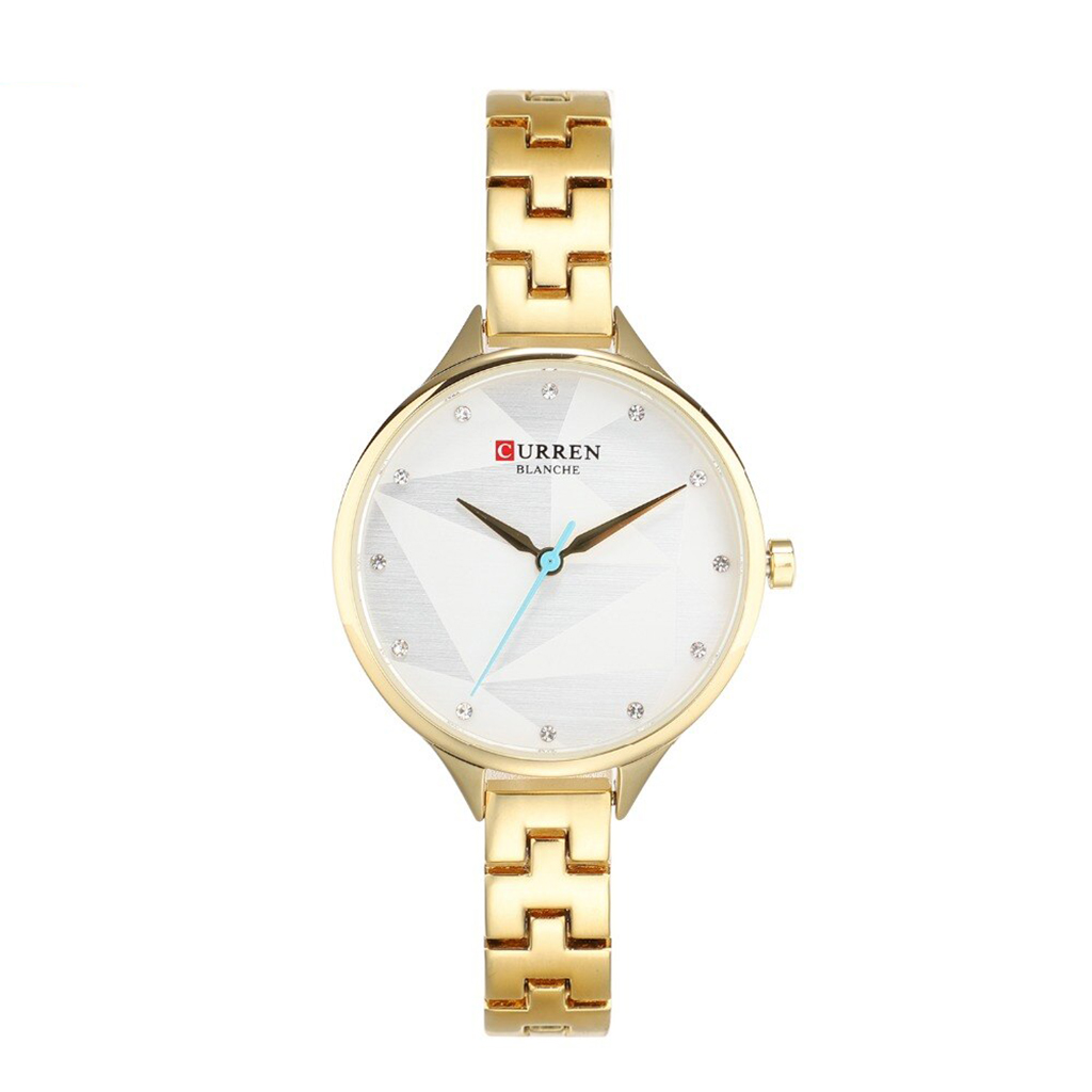 Curren 9047gw Quartz Watch For Women
