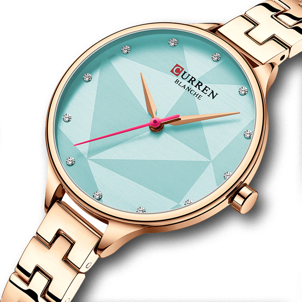Curren 9047rb Quartz Watch For Women