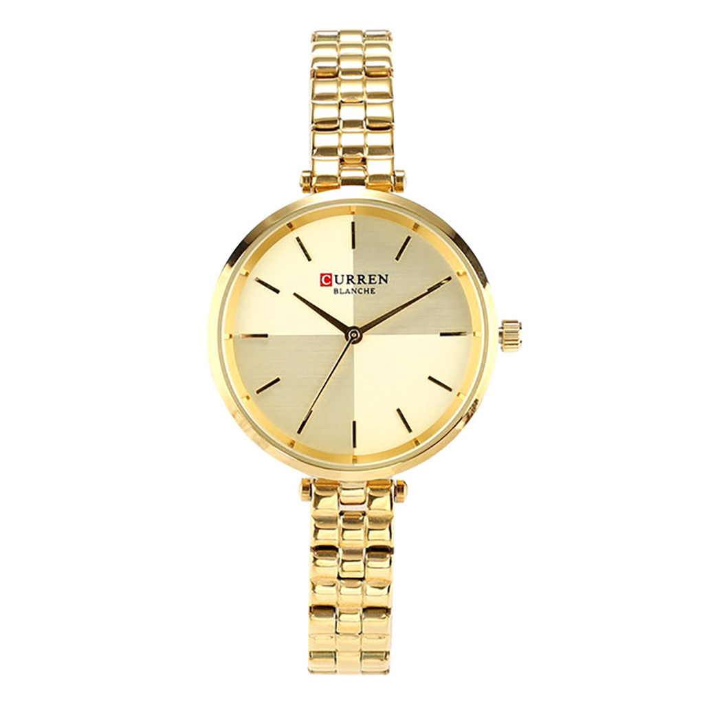 Curren 9043gd Quartz Watch For Women