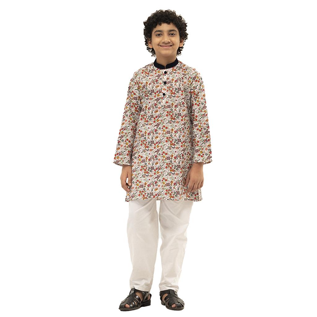 Twelve Punjabi For Baby Boy (white Print)