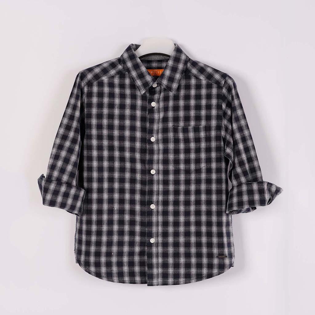 Twelve Shirt For Baby Boy (navy Blue)