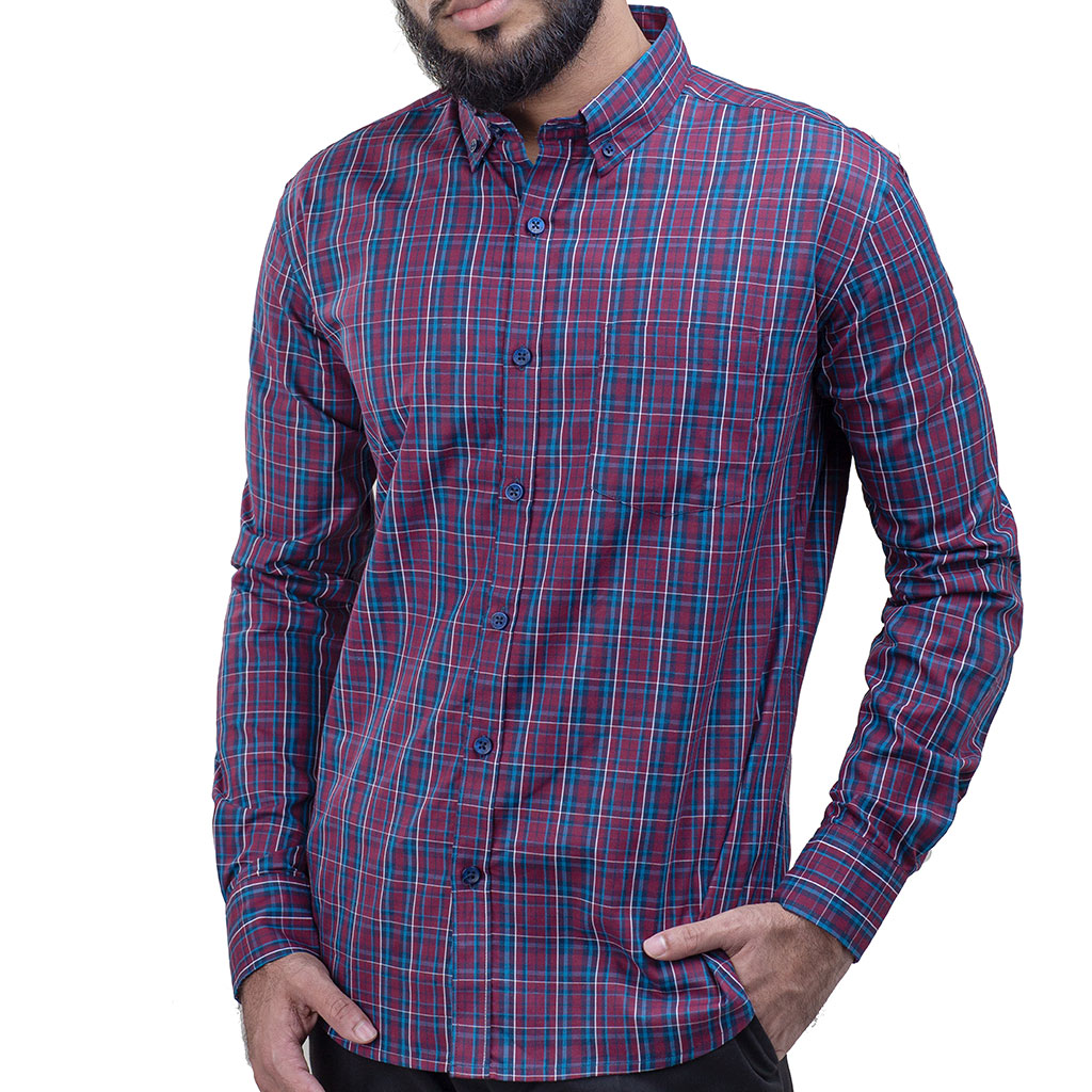 Siwak Ssc0928 Full Sleeve Casual Shirt
