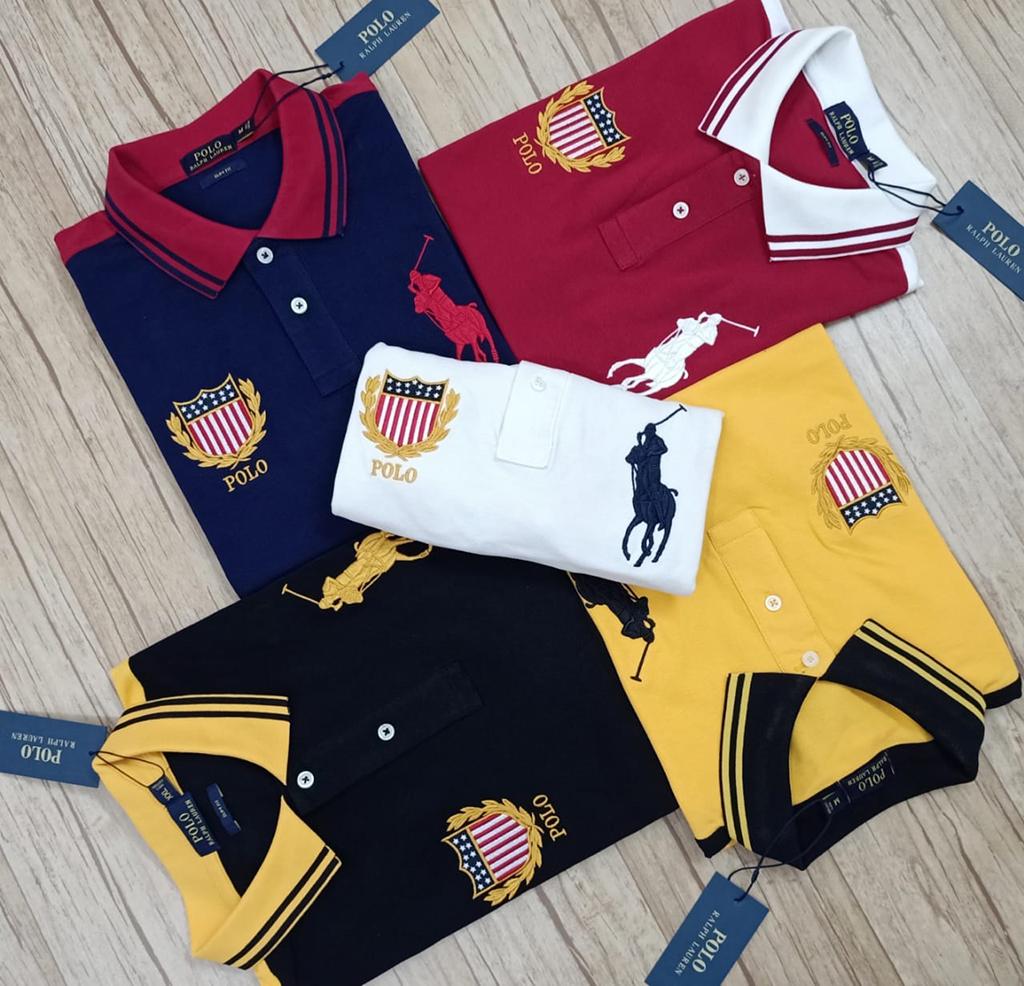 Ralph Lauren Men's Exclusive Premium Quality Stylish Polo T Shirt