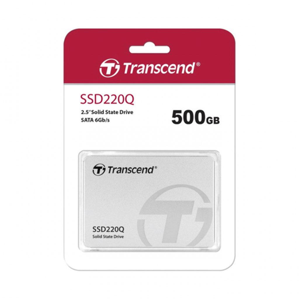 Transcend Ts500gssd220q 500gb 220q Sata Iii 2.5 Inch Internal Ssd