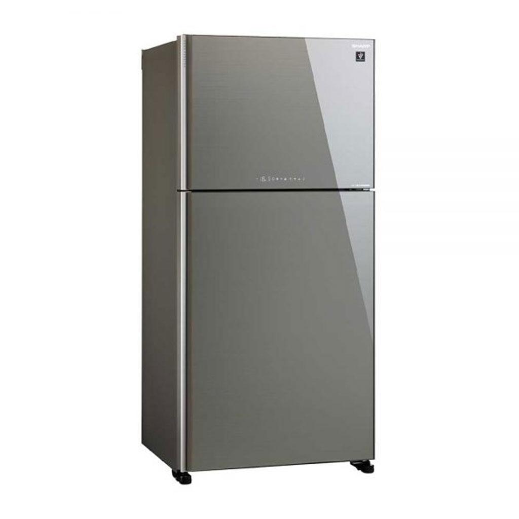 Sharp Sj-ex645p Premium-inverter With Pci Refrigerator (silver)