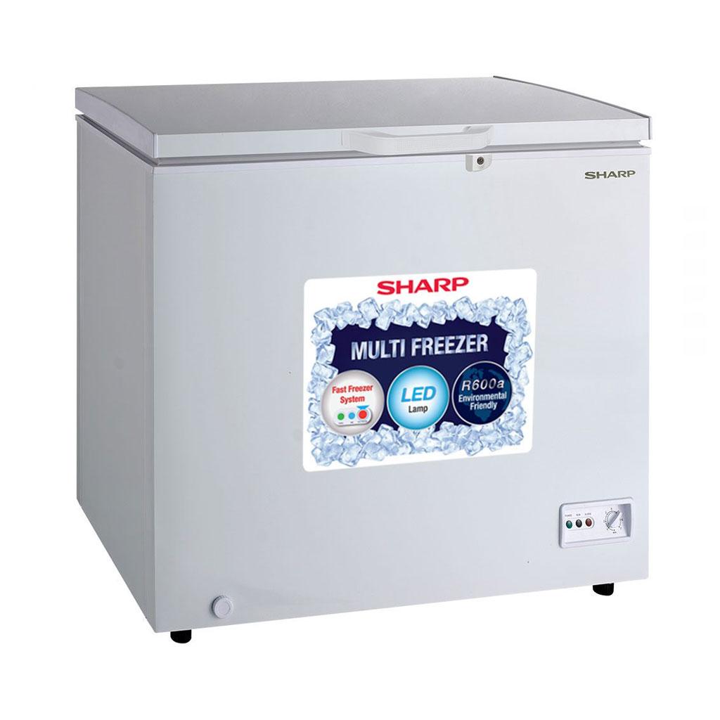 Sharp Sjc-218 Deep Freezer (white)