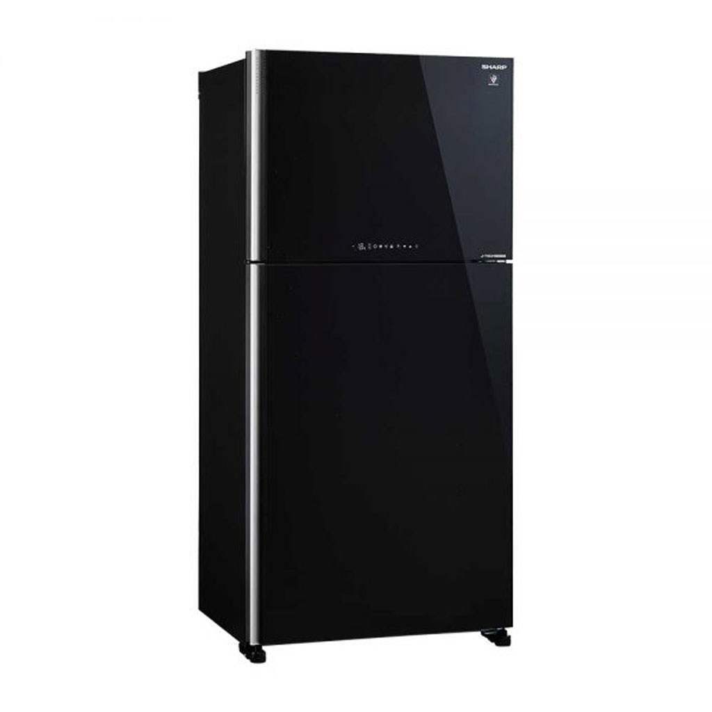 Sharp Sj-ex725p J-tech Inverter With Pci Refrigerator (black)
