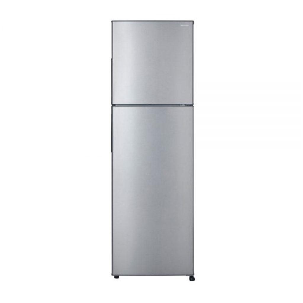 Sharp Sj-ek341e Non Inverter Refrigerator (silver)