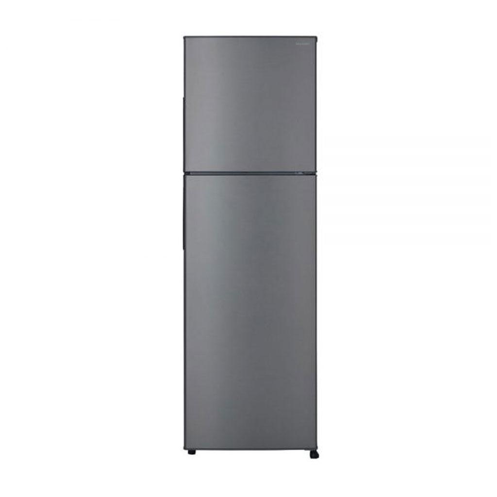Sharp Sj-ek341e Non Inverter Refrigerator (deep Silver)