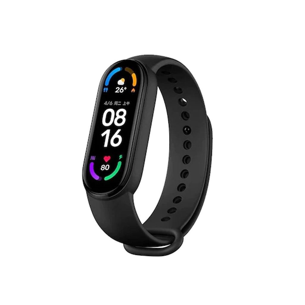Mi Smart Band 6 Full Screen Fitness Tracker - Black