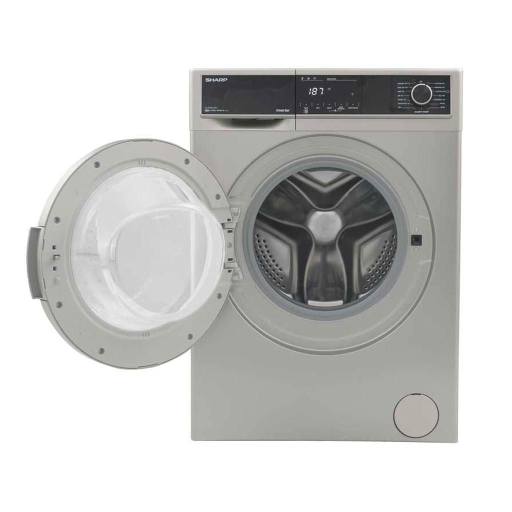Sharp Es-hfh014as3 Front Load Inverter Washing Machine