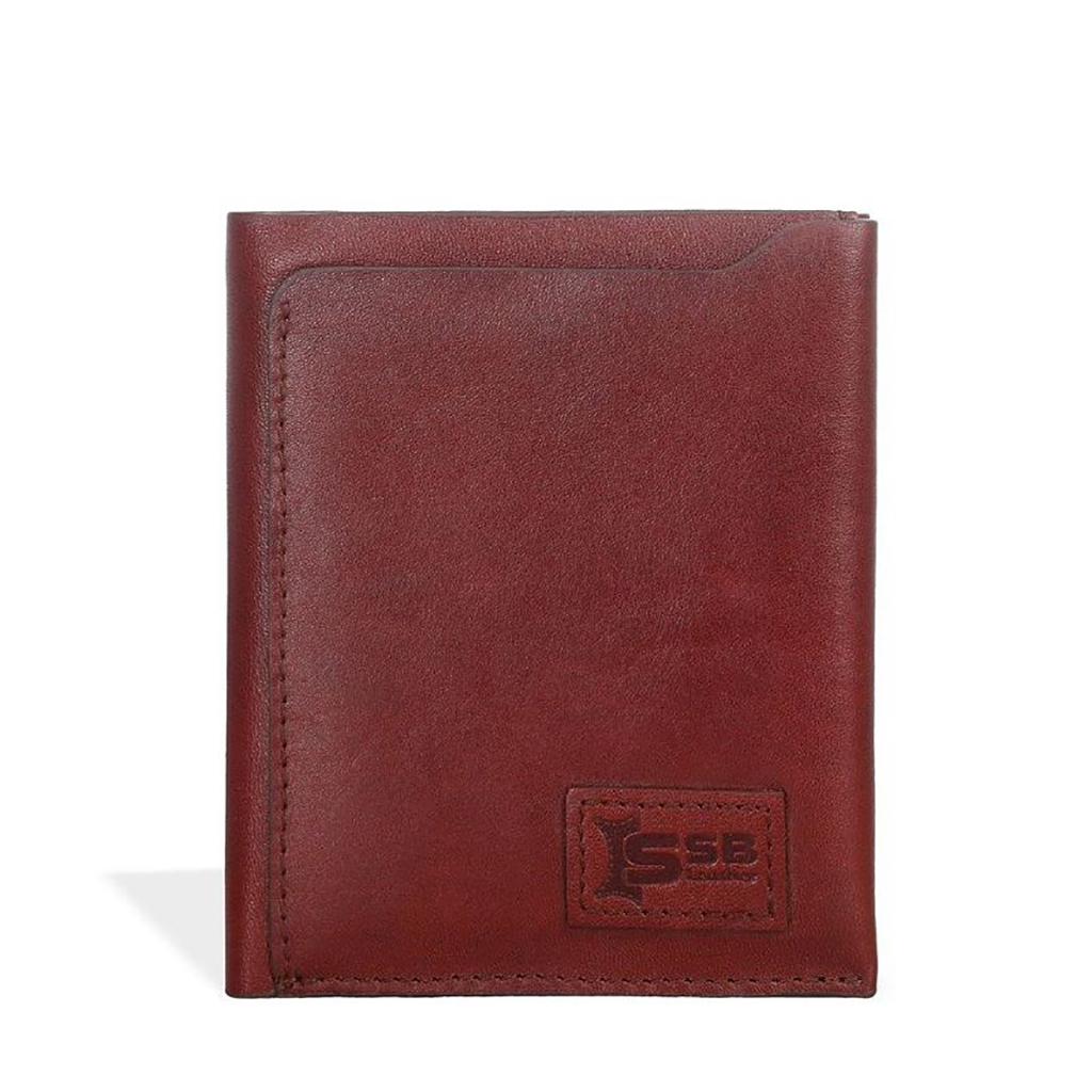 Hide And Seek Leather Wallet -sb-w52 (antique Brown)