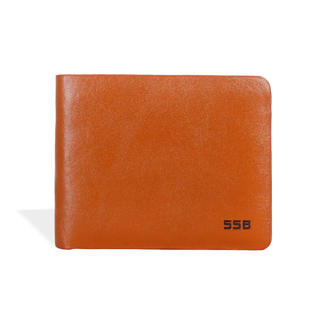 Executive Leather Slim Wallet - Sb-w50 (light Brown)
