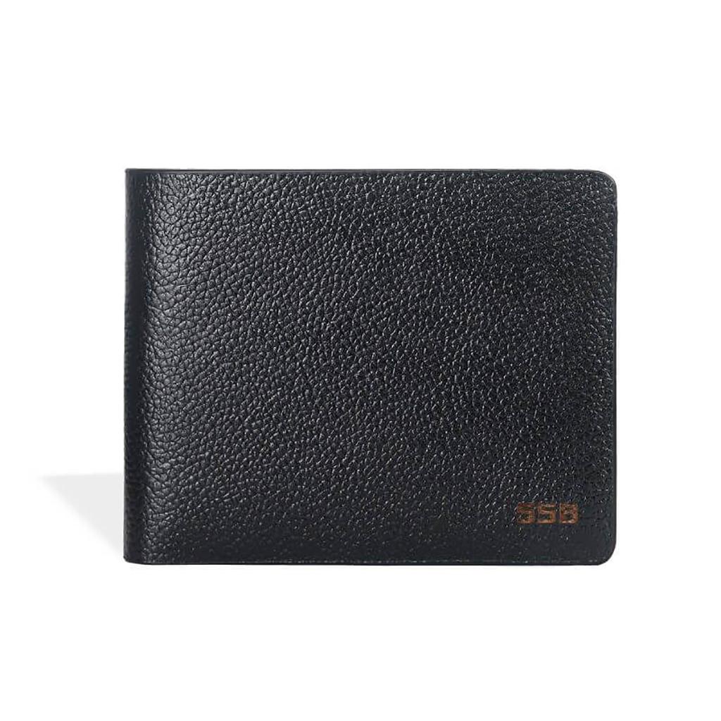 Executive Slim Leather Wallet - Sb-w49 (black)