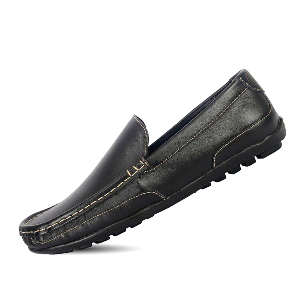 Leather Men's Loafers - Sb-s97
