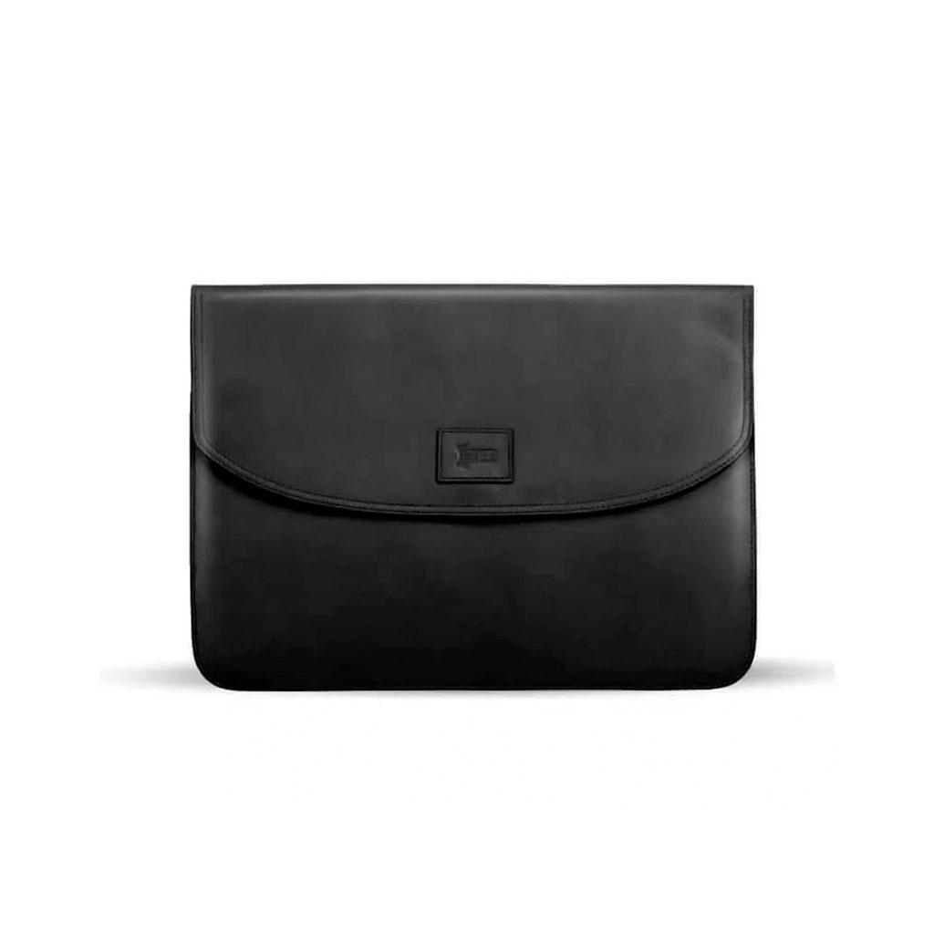 Ssb Ralphy Premium Leather Laptop Sleeve Sb-lc701 (black)