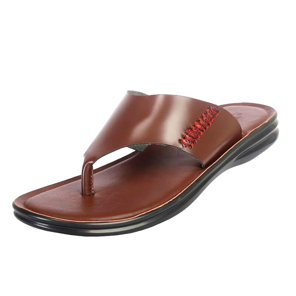 Ssb Leather Sandal - Sb-s88 (chocolate)