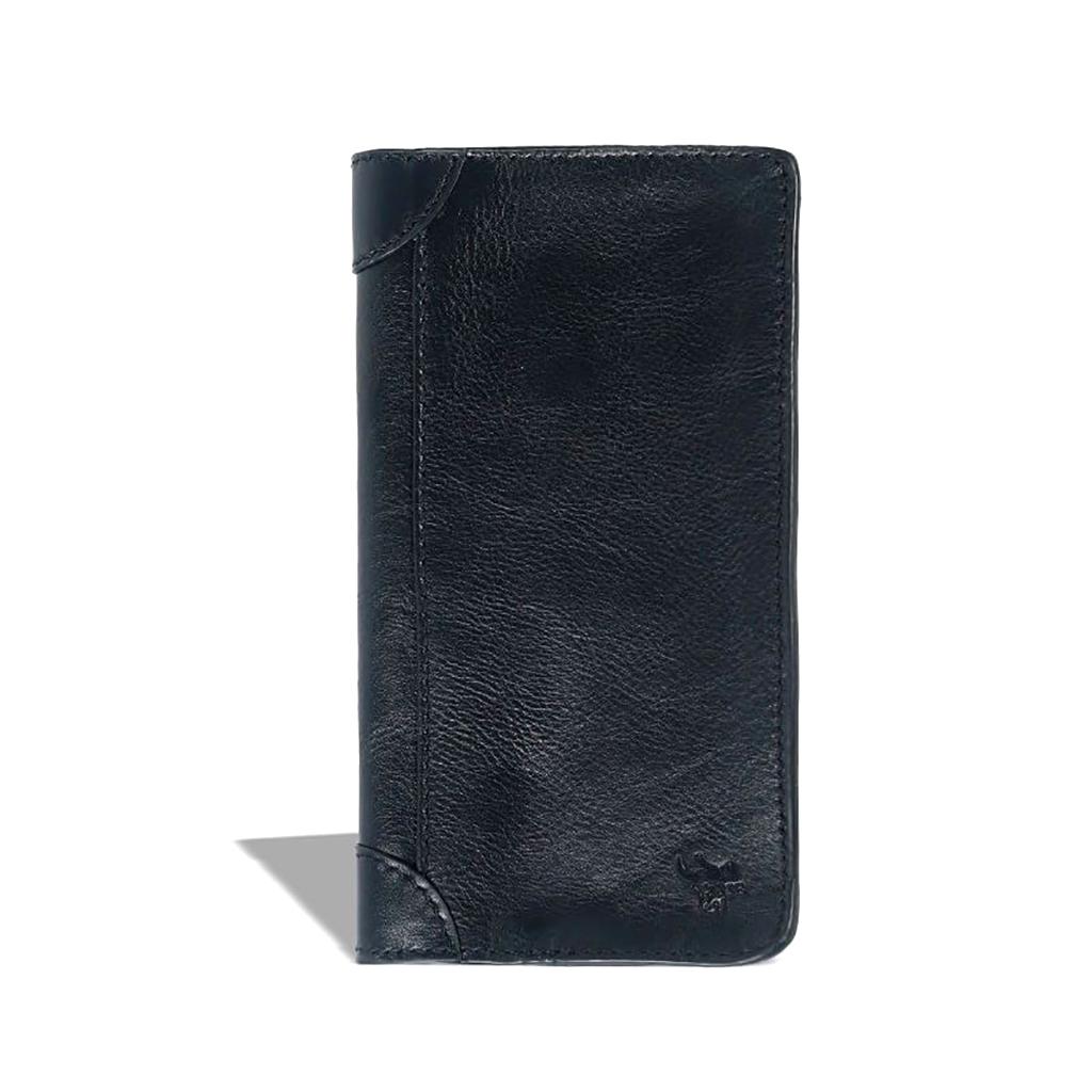 Leather Long Wallet - Sb-w08 (black)