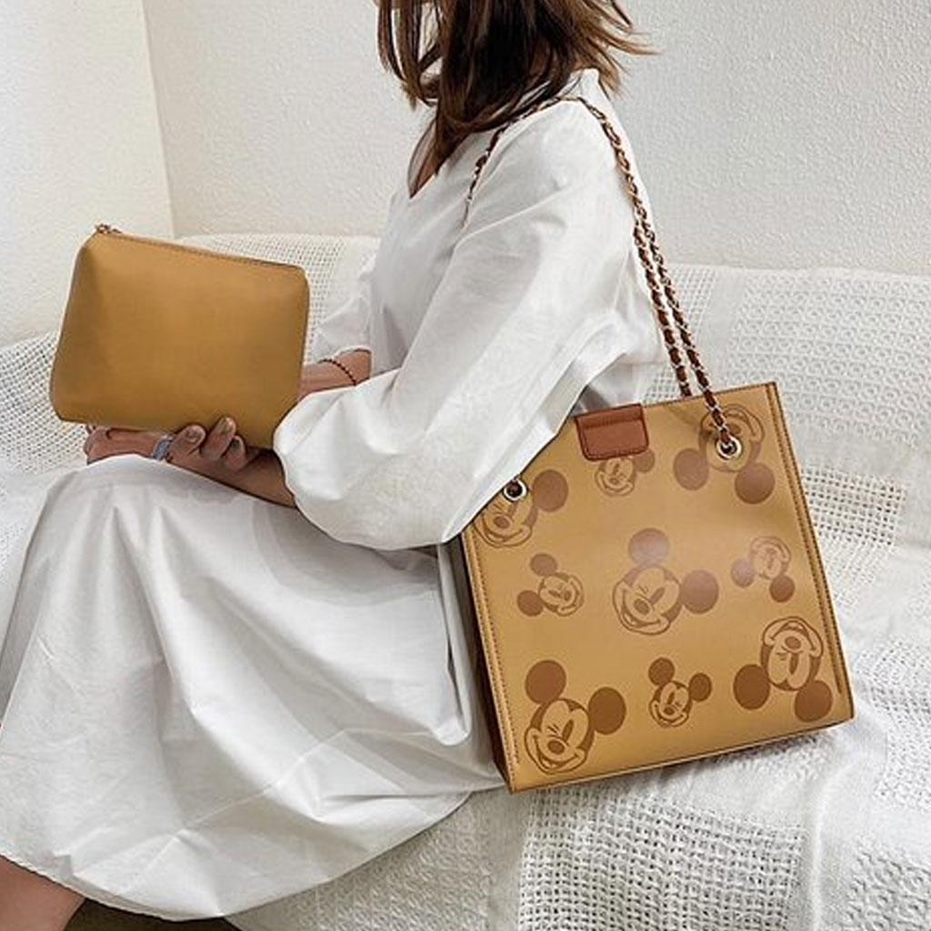 Disney Mickey Mouse Lady Messenger Bag (brown)