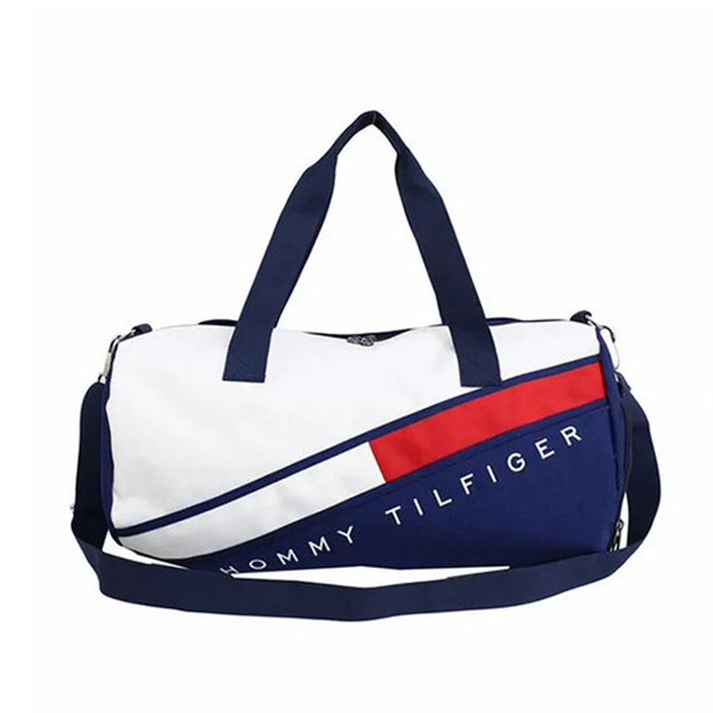 Hommy Tilfiger Branded Large Capacity Travel Bag (green)