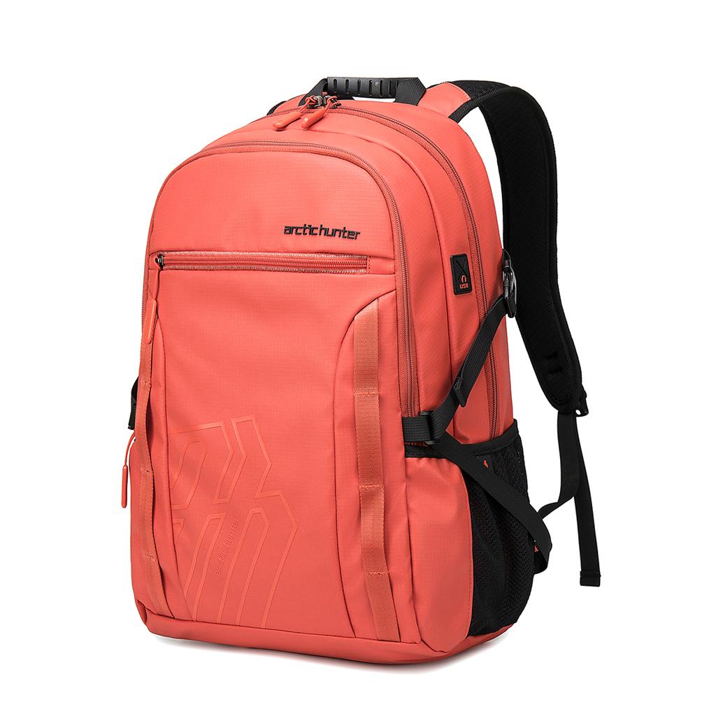 Arctic Hunter B00381 Waterproof Laptop Business Professional Travel Backpack (orange)