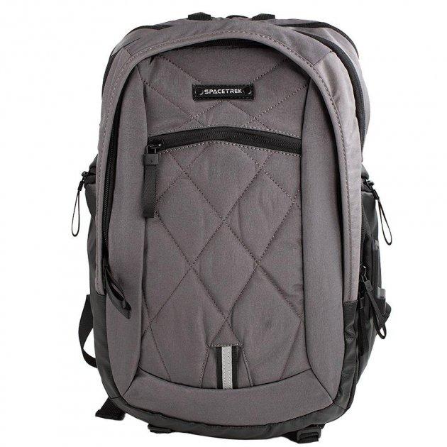 Spacetrek 1079# Professional Outdoor Laptop Office Travel Backpack (gray)
