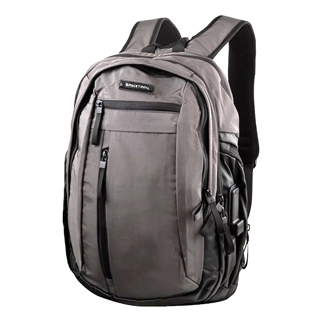 Spacetrek 19-684# Professional Outdoor Laptop Office Travel Backpack (gray)