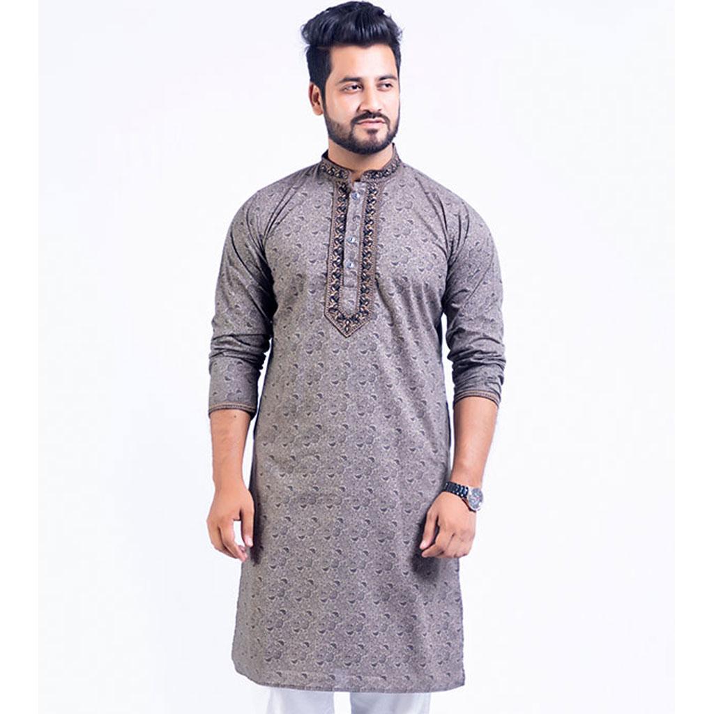 Printed Punjabi For Men - P-09
