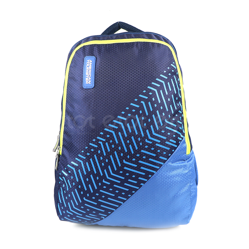American Tourister At07nbbl 20l Nylon Fabric Super Light Weight School College & Travel Backpack