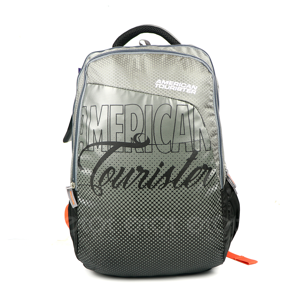 American Tourister At05gb 20l Nylon Fabric Super Light Weight School College & Travel Backpack