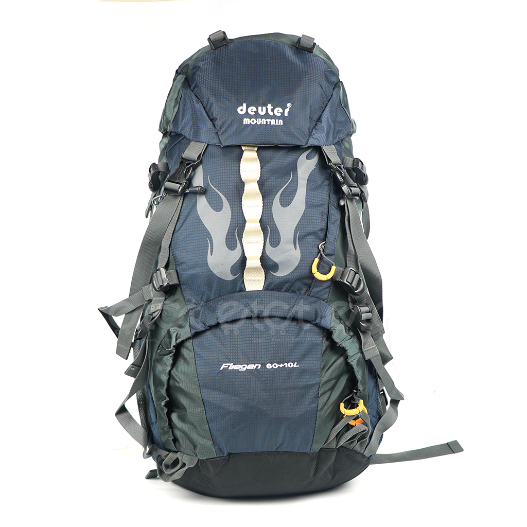 Deuter Mountain G70+10b# Fliegen 60+10l Large Premium Quality Hiking And Outdoor Professional Travel Backpack With Rain Cover