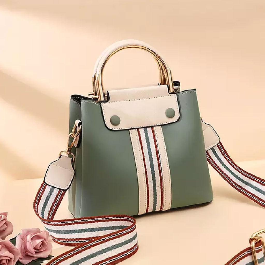 Top Handle Handbag (green) - Tt73m809