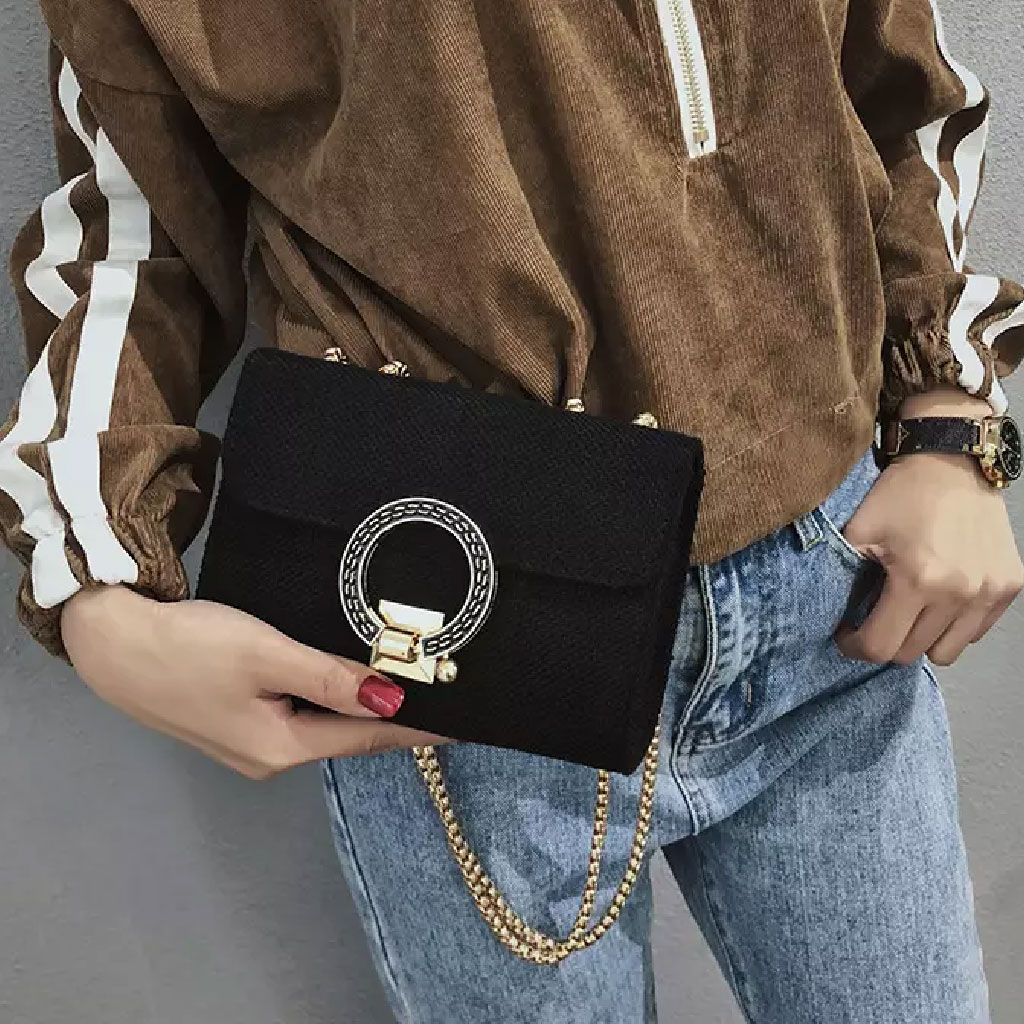 Women's Fashion Handbag (black) - Tw73b998