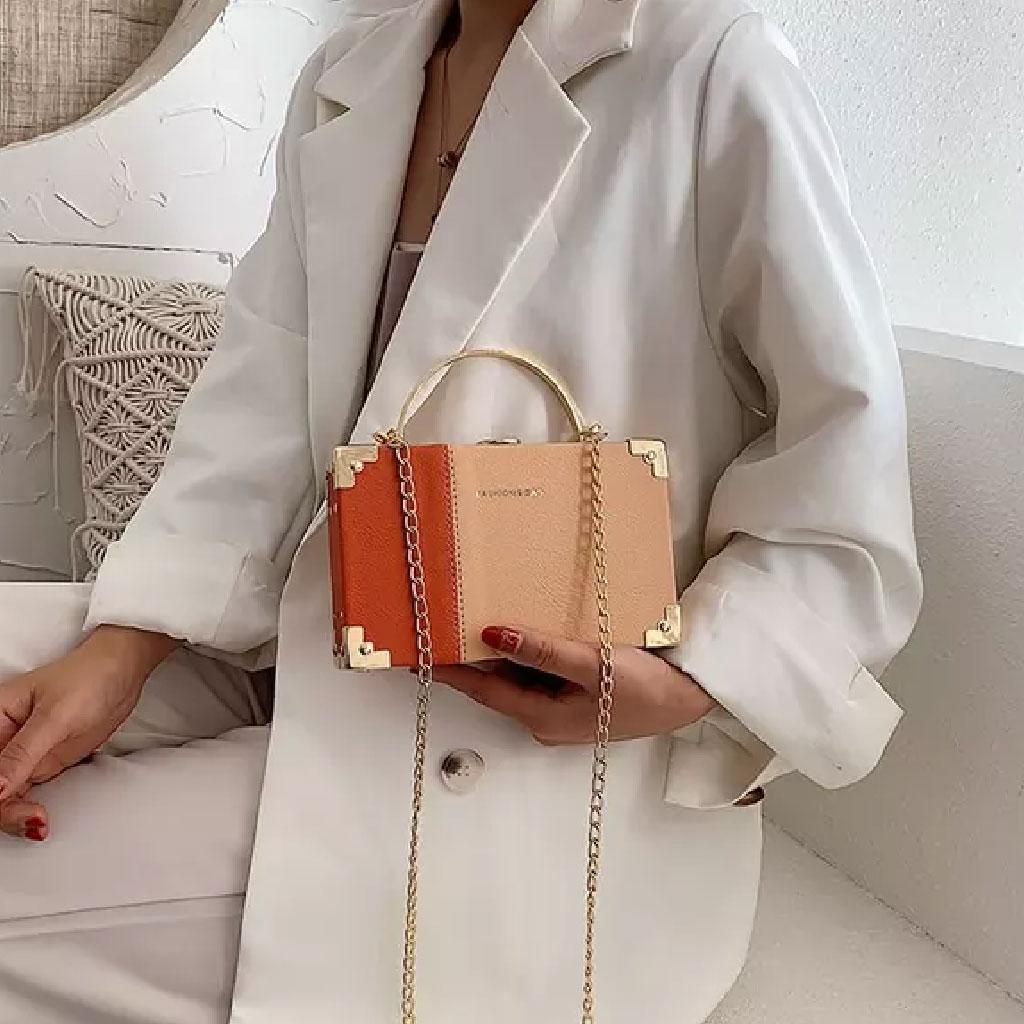 Clutch Bag For Women (orange) - Tml009083