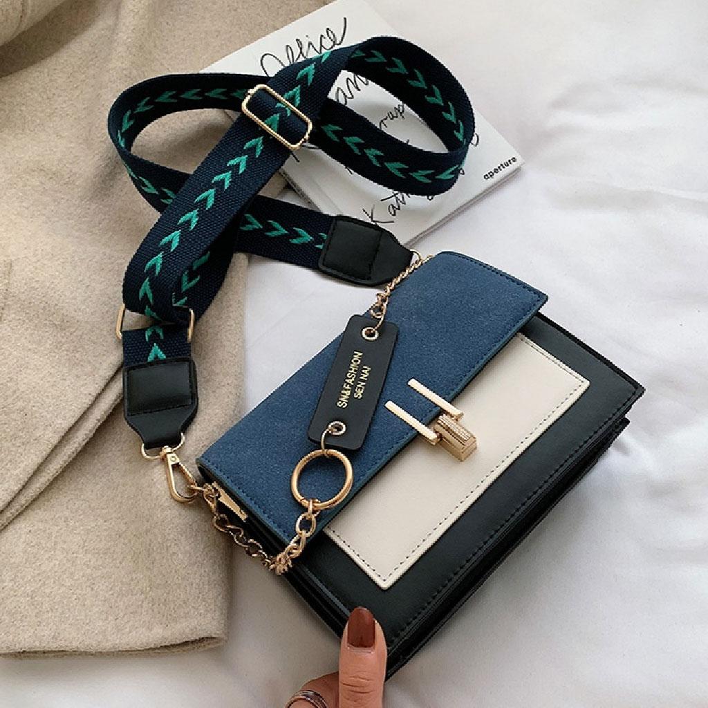Crossbody Bag Messenger (blue) - Ttl497609
